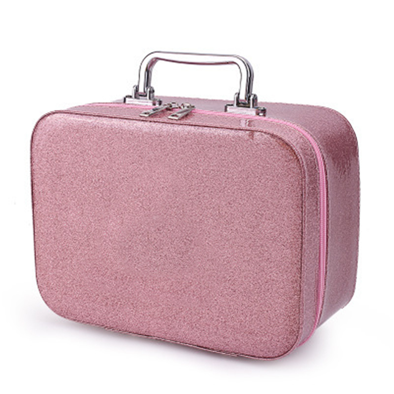 Women Makeup Case Cosmetic Bags Box Portable Cute Beauty Travel Purse Jewelry Display Case Fashion Holder Organizer For Make Up