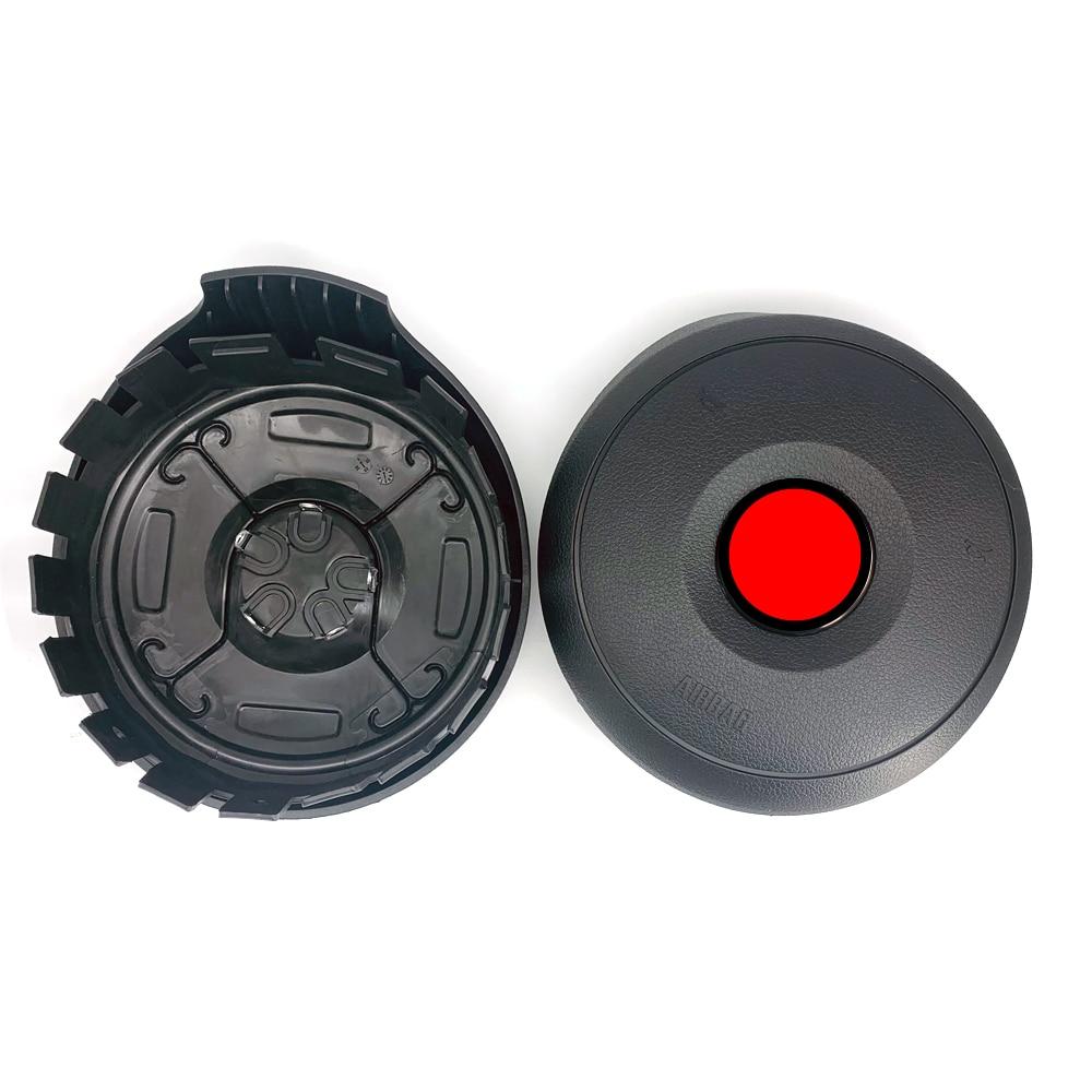 capa de buzina para volante bmw e60 e61 e63 e64 cobertura de volante pecas interiores profissionais