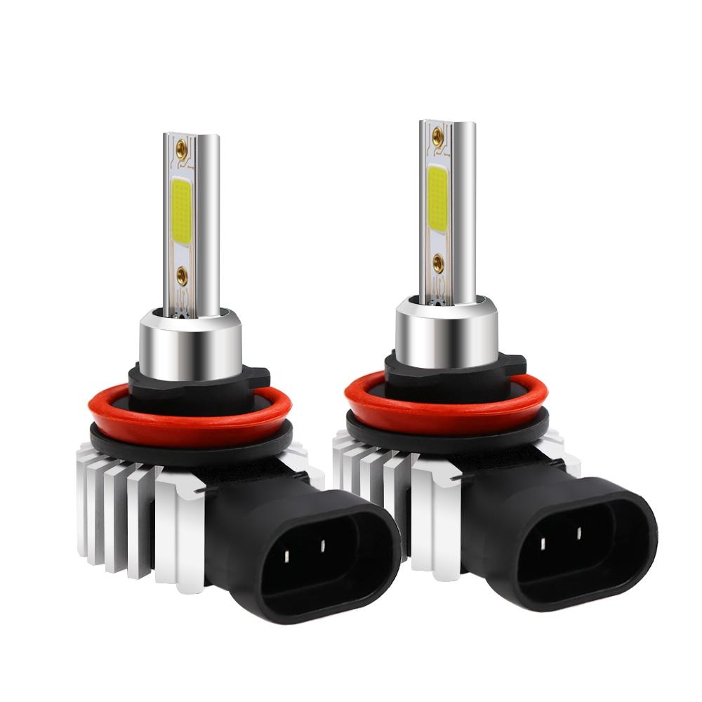2 шт. супер белые Автомобильные фары лампы H7 led h4 интерфейс для H1, H3,H4,H11,H8,H9 9005,HB3,H10,9006,HB4,9012,HIR2 H10 6000K