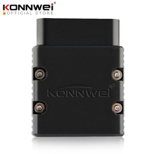 KONNWEI ELM327 V1.5 OBD2 סורק KW902 Bluetooth Autoscanner PIC18f25k80 מיני ELM 327 OBDII KW902 קוד קורא עבור אנדרואיד טלפון