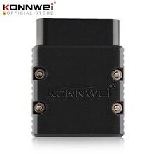 KONNWEI ELM327 V1.5 skaner OBD2 KW902 autoscanbluetooth PIC18f25k80 MINI ELM 327 OBDII KW902 czytnik kodów na telefon z systemem Android