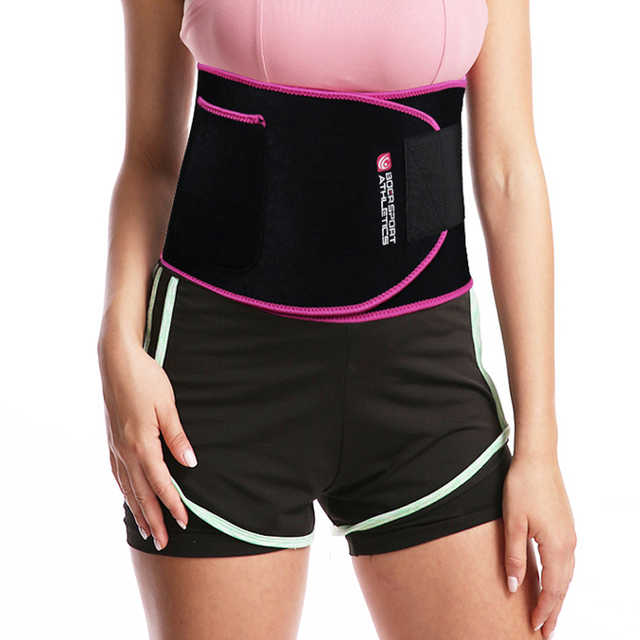 Hot Body Shaper Waist Trainer Waist support Tummy Control Belt Sauna Slimming Strap Fitness Sweat Shapewear for Fat Sportswear