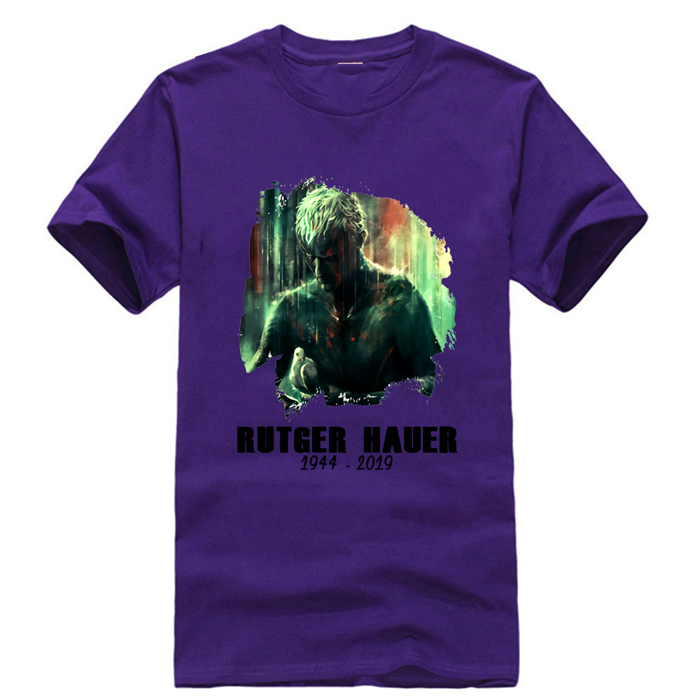 Rutger Hauer T-Shirt Tears in Rain/' Movie Blade Runner Adult /& Kids Tee Top