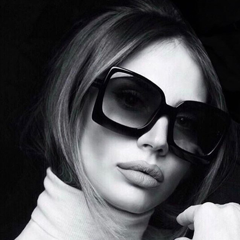 Солнцезащитные очки оверсайз для мужчин и женщин, брендовые Роскошные зеркальные солнечные очки в винтажном стиле, 2020