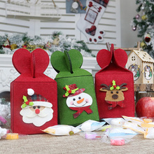 Christmas Candy Gift Bag New Year Present Packet Decor For Home NEW