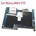 (Протестировано) Полная разблокировка, мобильная электронная панель, материнская плата, гибкий кабель для Meizu MX4 16 ГБ 32 ГБ MB Plate