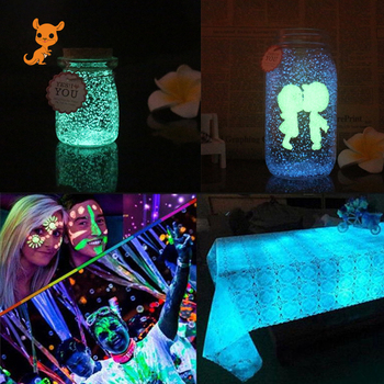 Glow In The Dark 10g Luminous Party DIY Bright Paint Star Wishing Bottle Fluorescent Particles light up toy  glow in the dark kiss in the dark
