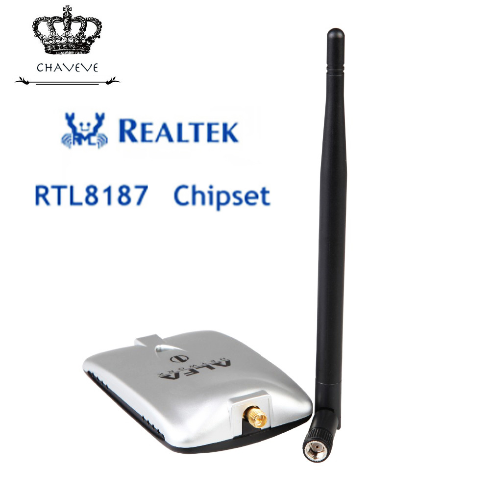 ALFA WIFI adapter RTL8187 chipset 2000mW wireless USB Wifi adapter 54Mbps wireless USB Wifi network card for kali linux