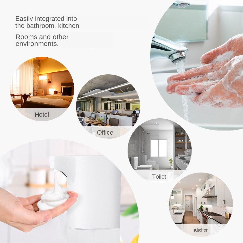 H29c75ea2b4c145408ca1c0f163d187059 Automatic Foam Soap Dispenser Infrared Sensing Foam Soap Dispenser Induction Liquid Soap Dispenser For Bathroom Kitchen Hotel