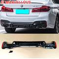 Accessories Decorative Automovil Accessory Rear Diffuser Styling Front Tunning Car Lip Bumper 17 18 FOR BMW 5 series