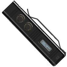 NITECORE прожектор супер яркий фонарь TM10K 10000LM перезаряжаемый 6LED фонарик включает 4800mAh литий ионный аккумулятор
