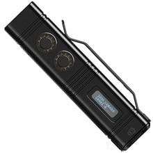 NITECORE projecteur Super lumineux torche projecteur TM10K 10000LM Rechargeable 6LED lampe de poche comprennent 4800mAh Li Ion batterie