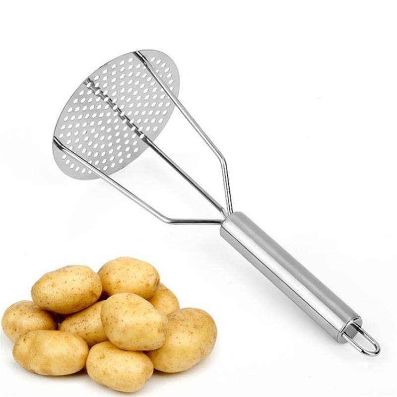 Pressed Potato Masher Rice Puree Juice Maker Potato Pusher Smooth Mashed Potatoes Crusher Fruit Tools