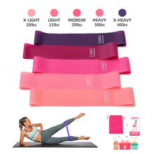 Fitness Eco-Friendly High Quality Yoga Elastic Stretch Stretching Exercise Loop Resistance Bands