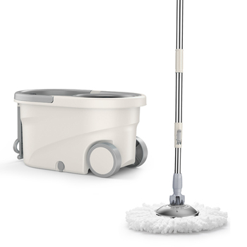 Mop lever rotation universal hand-free mop bucket one tow  net artifact automatic water lazy  cloth
