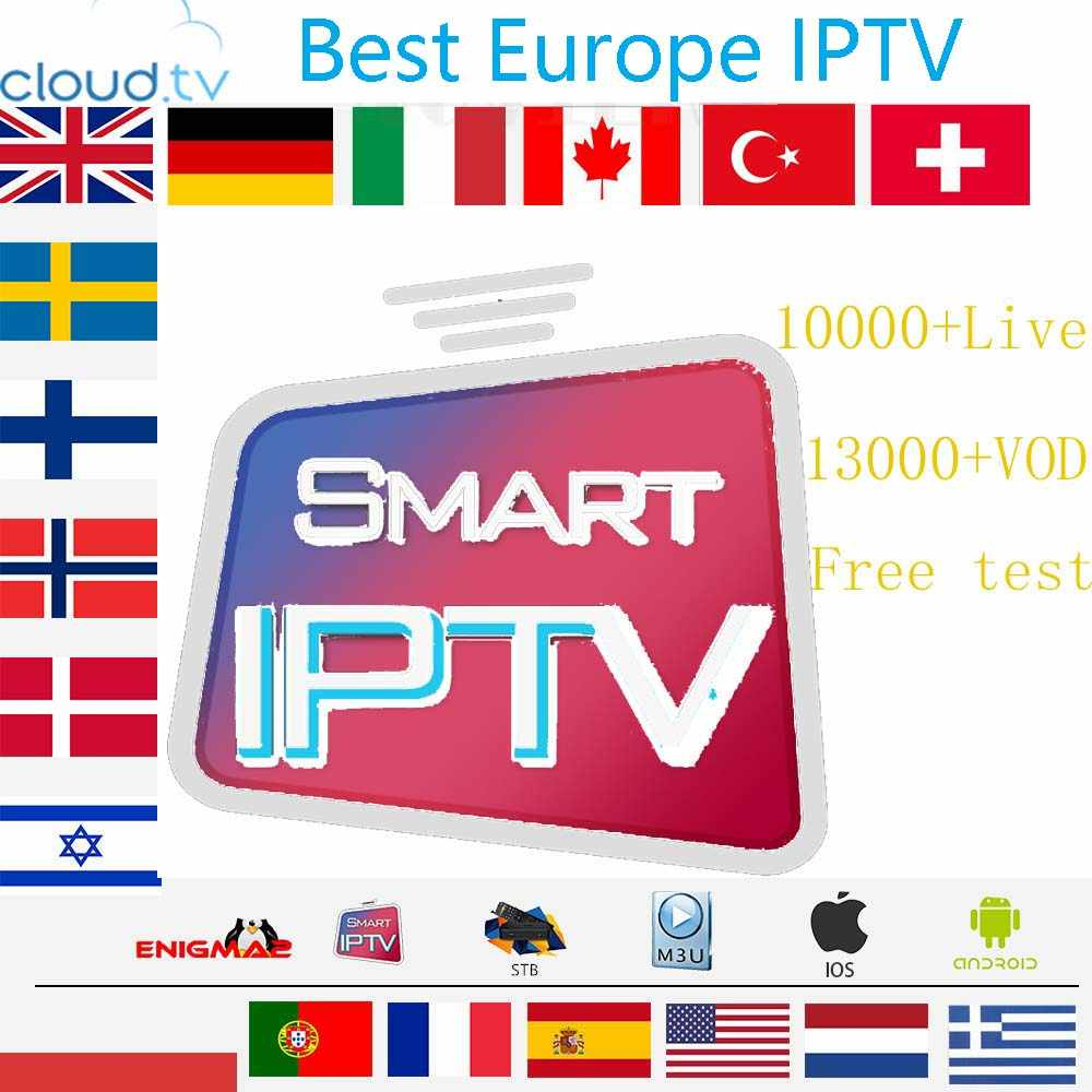IPTV German French Turkish UK Poland Romania Hungary Czech Spain Nordic HD  IPTV Support Android M3U Smart TV Series VOD
