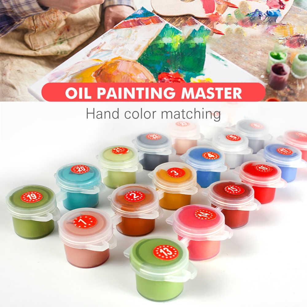 HUACAN malowanie numerami pejzaż filiżanka kawy farba akrylowa według numerów dla dorosłych Wall Art Picture Home dekory