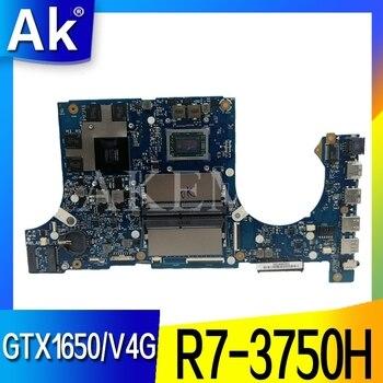 Akemy FX505DT  Motherboard For ASUS TUF Gaming FX505D FX505DT FX505DD 15.6 inch  Mainboard R7-3750H GTX 1650 / V4G