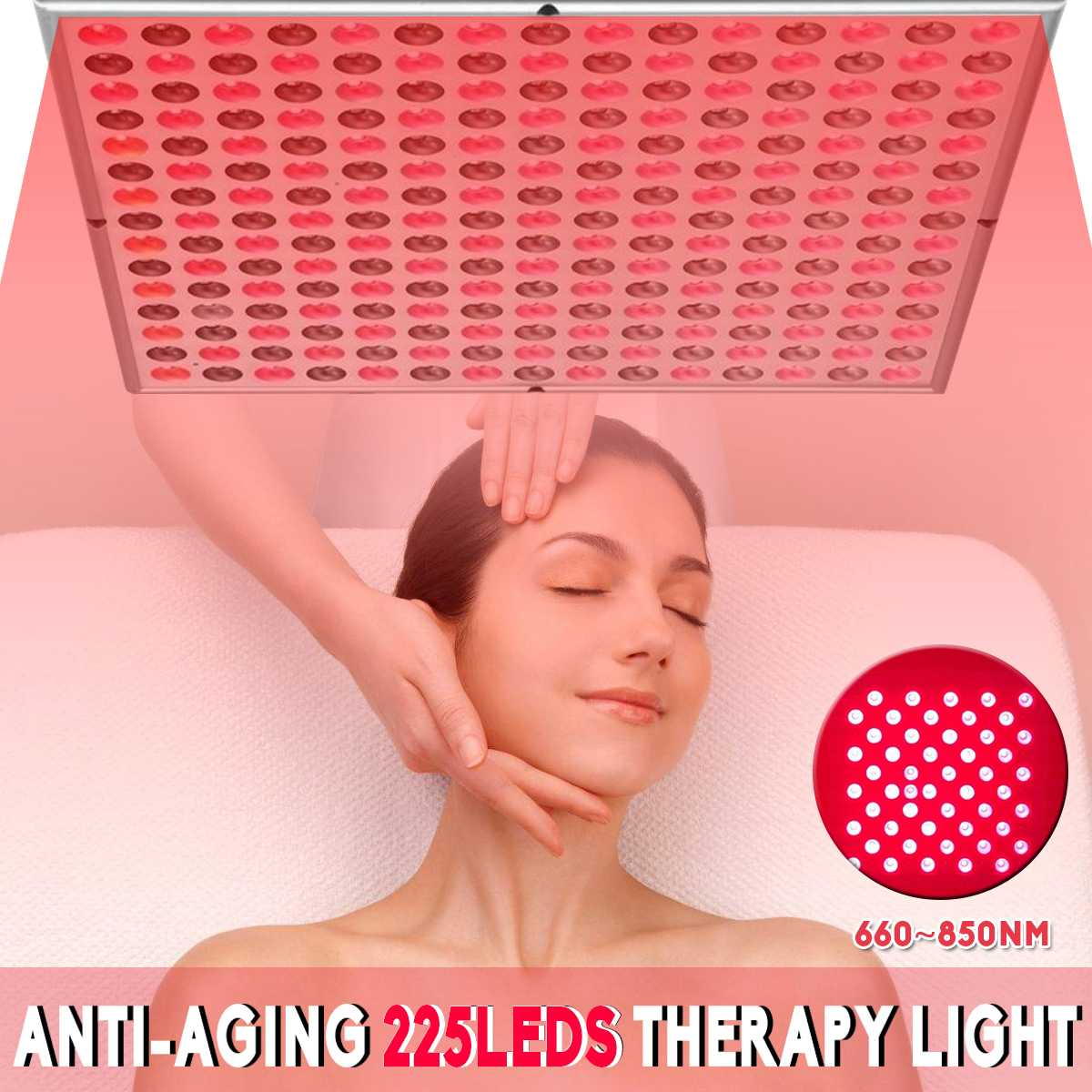 NEW Anti Aging 45W Red Led Light Therapy Deep Red 660nm And Near Infrared 850nm Led Light For Full Body Skin And Pain Relie