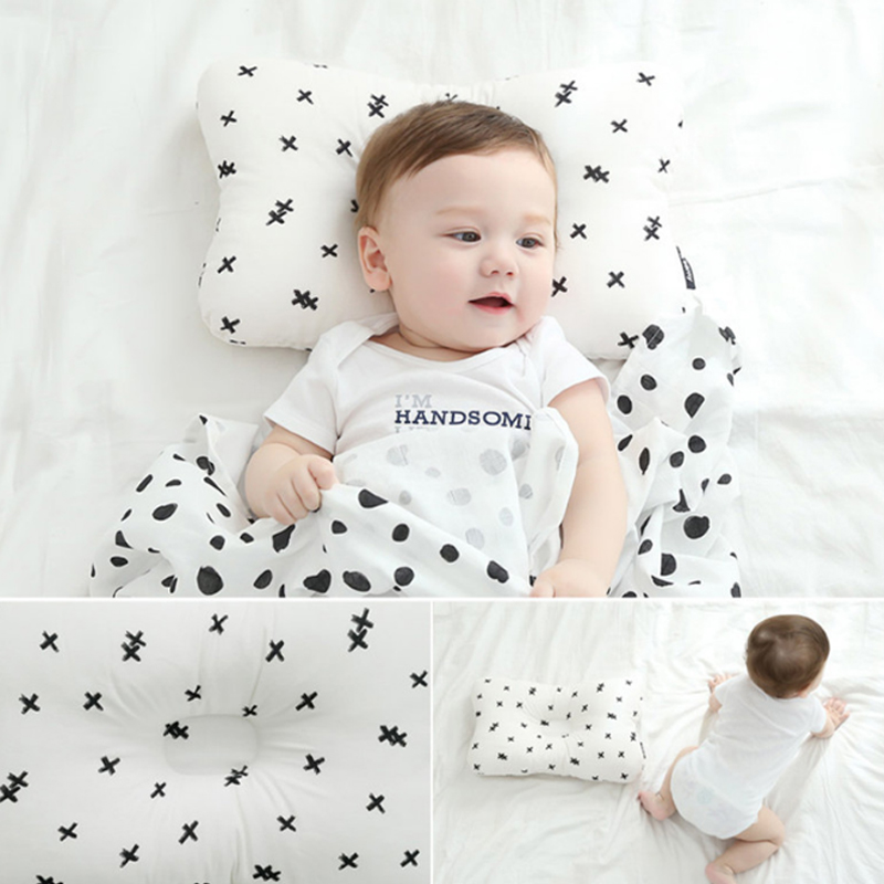 Pudcoco Toddler Baby Infant Newborn Sleep Positioner Support Pillow Cushion Prevent Flat Head Baby Pillow