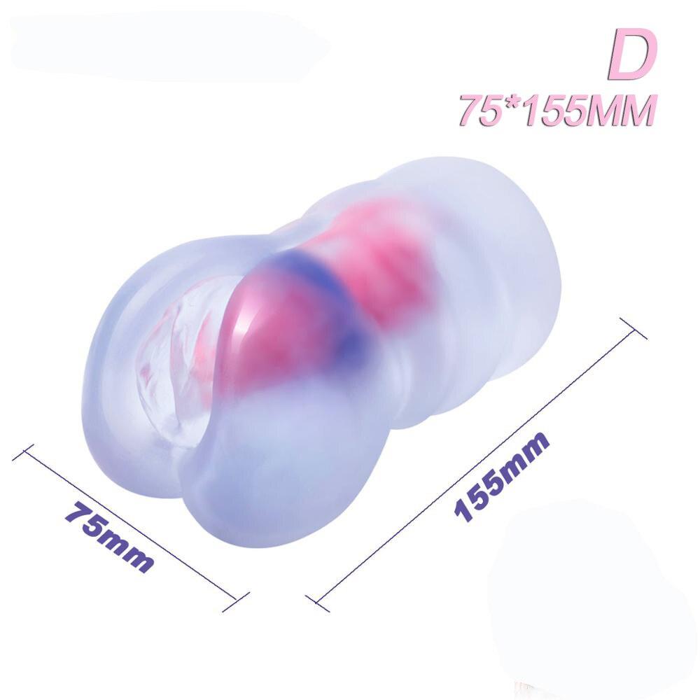 Masturbador sexual para hombres, Vagina realista, 7,5x155mm, Vagina suave transparente, juguetes eróticos, 18 + tienda sexual, envío gratis