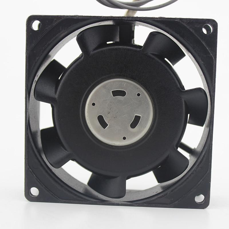 Japan  STYLE FAN UP12B10 8CM 240V Mute Aluminum Frame Cooling Fan