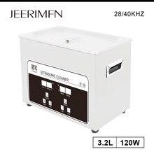 Nettoyeur à ultrasons 120W, minuterie numérique, chauffage, moteur PCB, nettoyage à ultrasons, pièces de laboratoire, dispositif sonique dentaire, rouille à l'huile, 3L