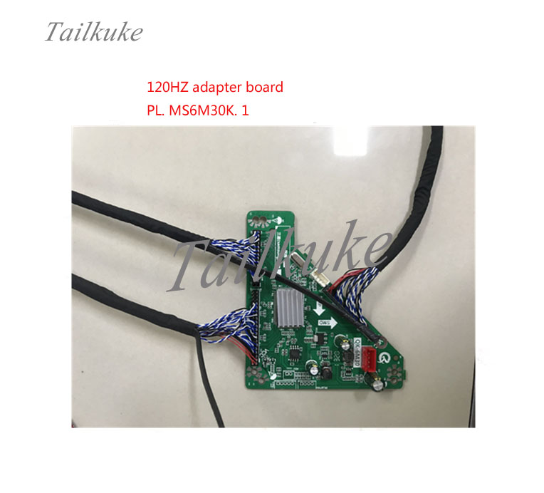 New LED LCD Screen 120HZ PL.MS6M30K.1 Adapter Board Wiring Set