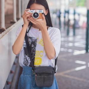Image 2 - Fusitu – sac à bandoulière pour appareil photo, pour Canon EOS M100 M50 M10 M6 M3 M2 SX540 SX530 SX520 SX510