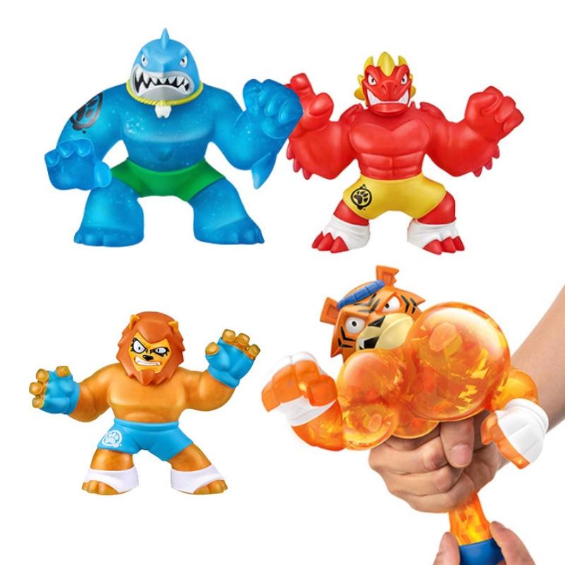 Goo Hero Jit Zu красочные сжимаемые игрушки Халк галактика крутая сжимаемая кукла медленно восстанавливающая форму игрушки для снятия стресса дл...