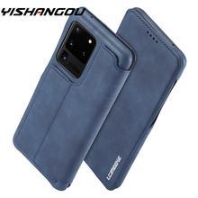 Flip Étui En Cuir Pour Samsung Galaxy S20 Ultra A50 A70 A51 A71 Note 20 10 9 S10 S9 S8 Plus S10E A40 A20 A30 A20E Couverture