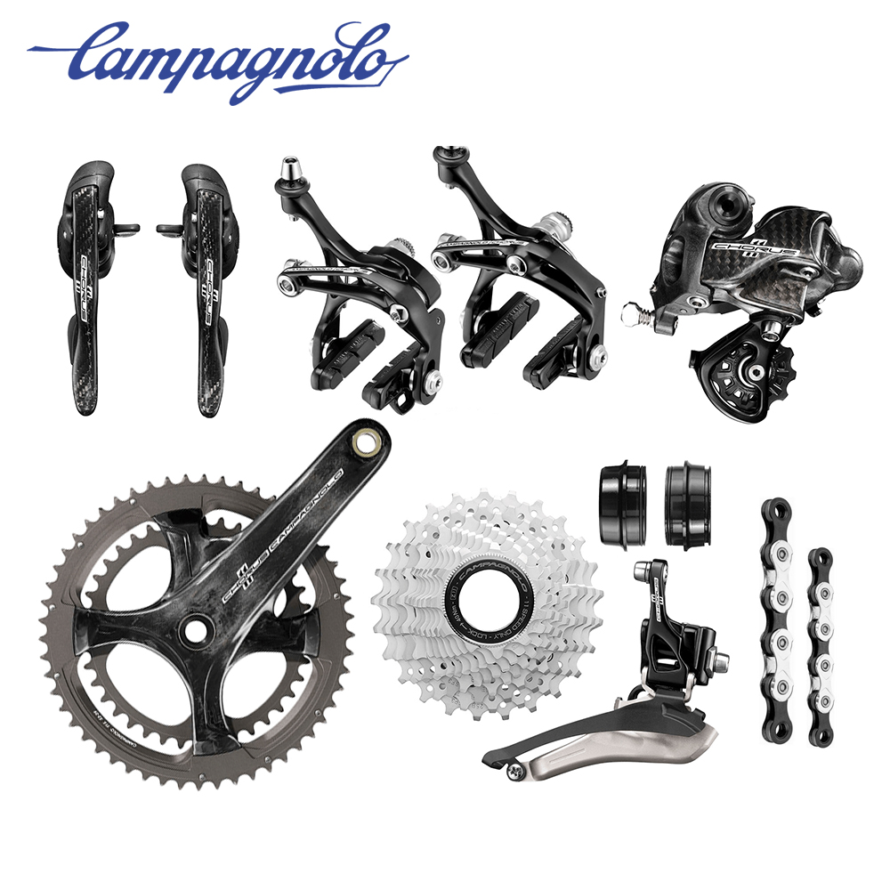 HO lightweight carbon bicycle groupset <font><b>cassette</b></font> <font><b>11</b></font> speed for road bike shifter set front rear derailleur groupset Chainset 170mm image