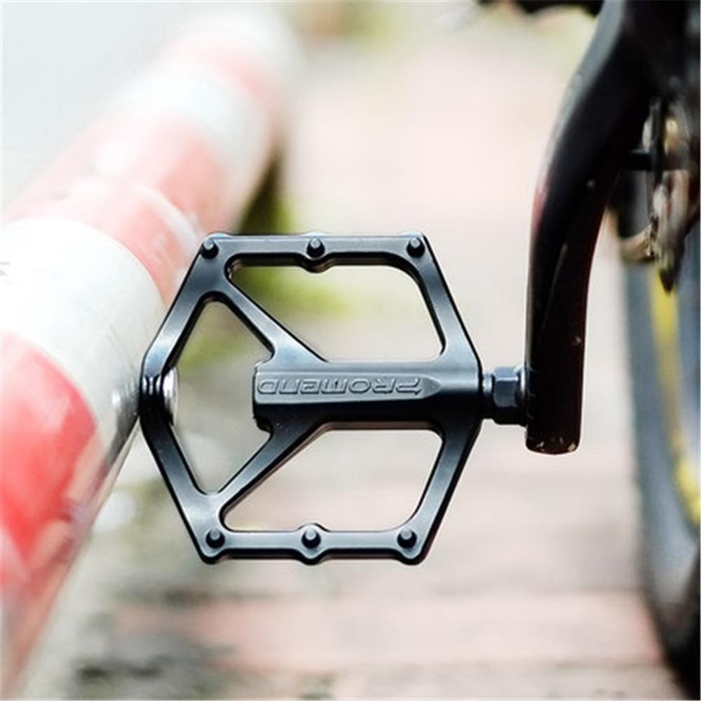 4 rolamentos de bicicleta pedal antiderrapante ultraleve cnc mtb mountain bike pedal selado pedais de rolamento acessórios da bicicleta