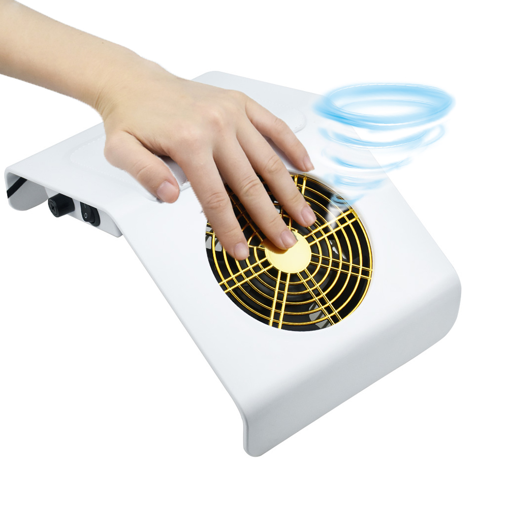 40W Powerful Nail Dust Vacuum Suction Collector Dust Filter Machine Nail Art Equipment Nail Salon Tool And 2 Dust Collecting Bag