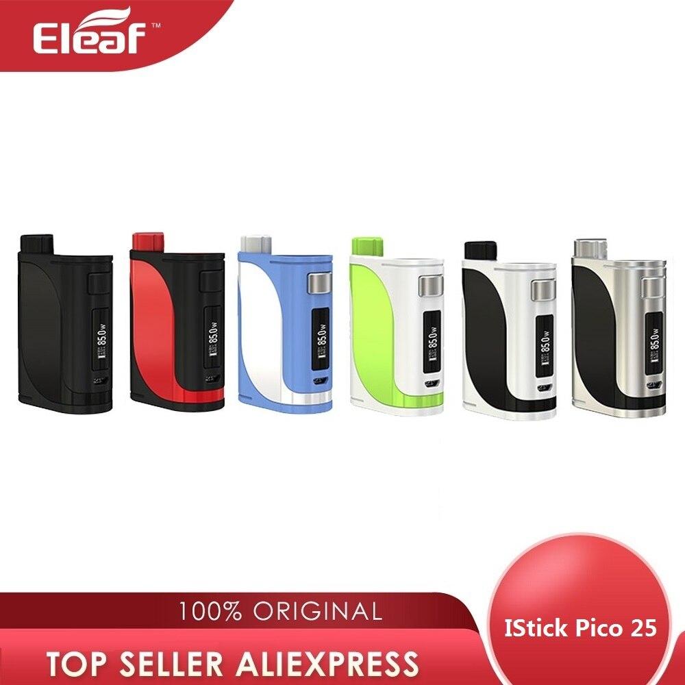 Original Eleaf IStick Pico 25 MOD 85W Pico Mod électronique Cigarette Vape boîte Mod pour Ello réservoir no 18650 batterie Vs glisser 2