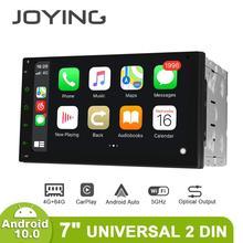 JOYING 2 Din Xe ô tô đài phát thanh nhạc Octa Core 4GB + 64GB Android 8.1 Hỗ Trợ 4G DSP GPS đa năng Stereo Đầu đơn vị SWC đa phương tiện