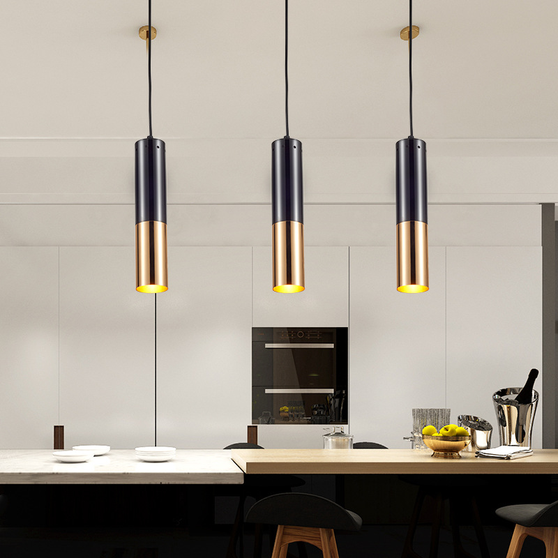 Northern Europe Creative Cool Art Restaurant Designer Lamps Post-Modern Industrial-Style Bar Counter Single Chandelier
