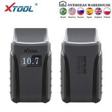 XTOOL Anyscan A30 все системы автомобильный детектор OBDII код считыватель сканер для EPB сброса масла OBD2 Диагностический Инструмент Бесплатное обновление онлайн