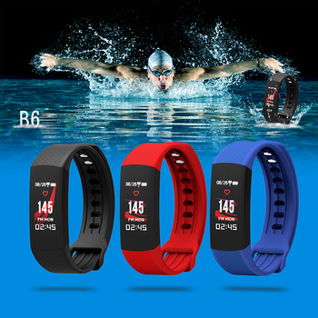 Bluetooth 4.0 Sports Smart Wristband Men Wristwatch Health Monitor Heart Rate Monitor Swimming Fitness Wristband For IOS Android фото