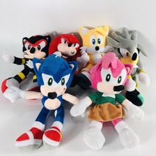 Toy Dolls Stuffed-Toys Action-Figure Hot-Game-Doll Birthday-Gift Sonic Plush Pink Children