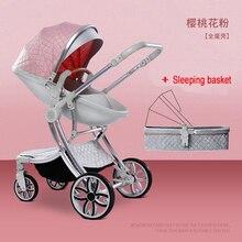 2020 New 2 in 1 Infant Travel Pram High-Grade Baby Stroller