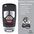 KEYECU FCC ID: AB01502T / 16245100-29 обновленный откидной дистанционный ключ с 3 / 4 кнопками 315 МГц ID46 - FOB для Buick/ Chevrolet/ GMC