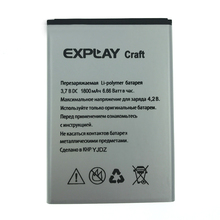 2pcs NEW Original 1800mAh Craft battery for EXPLAY Craft High Quality Battery+Tracking Number