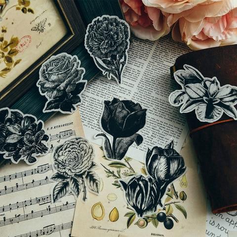 flores do vintage planta decoracao adesivo diy