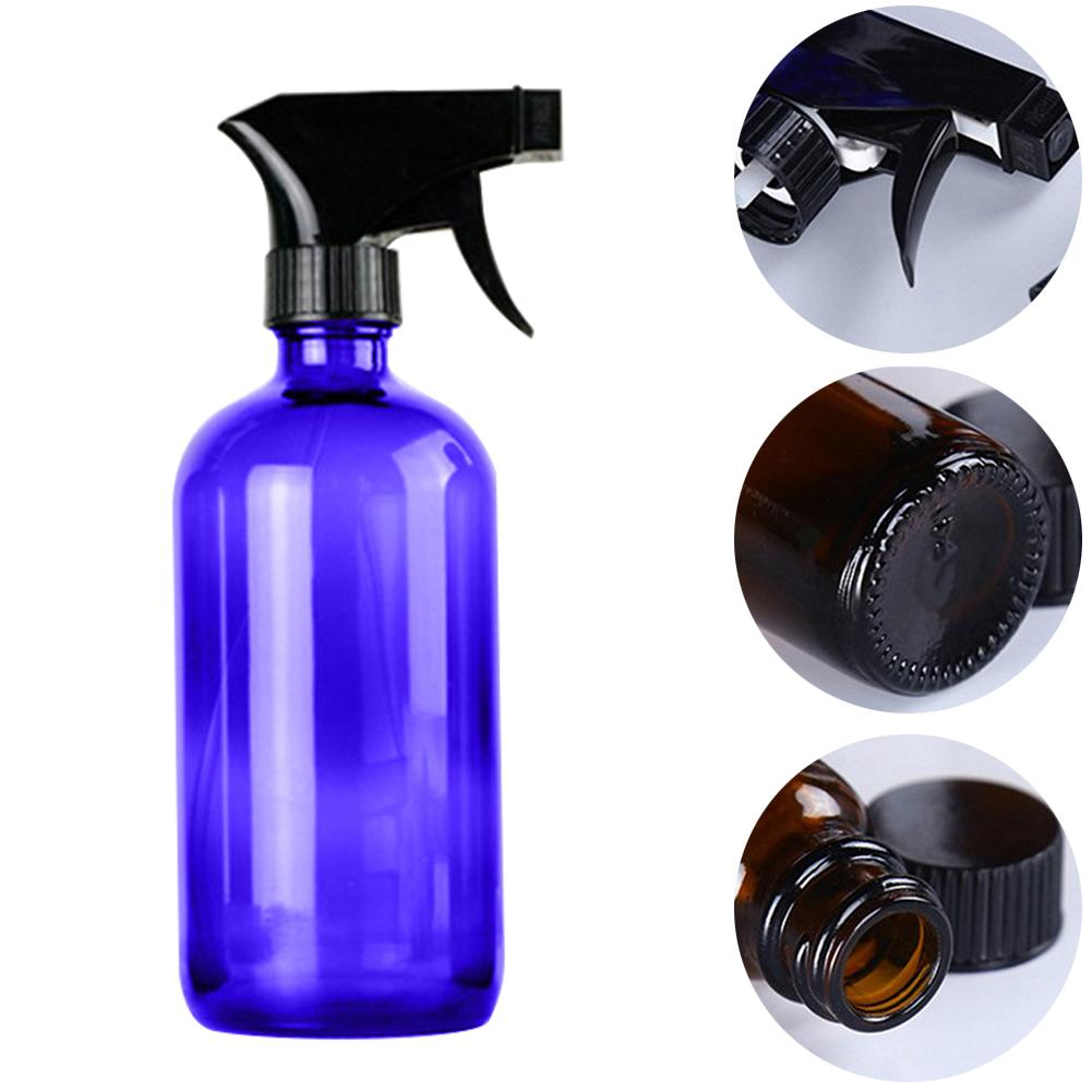 250/500ml Portable Empty Glass Spray Bottle Essential Oil Cleaner Refillable Liquid Atomizer Makeup Perfume Sprayer Container