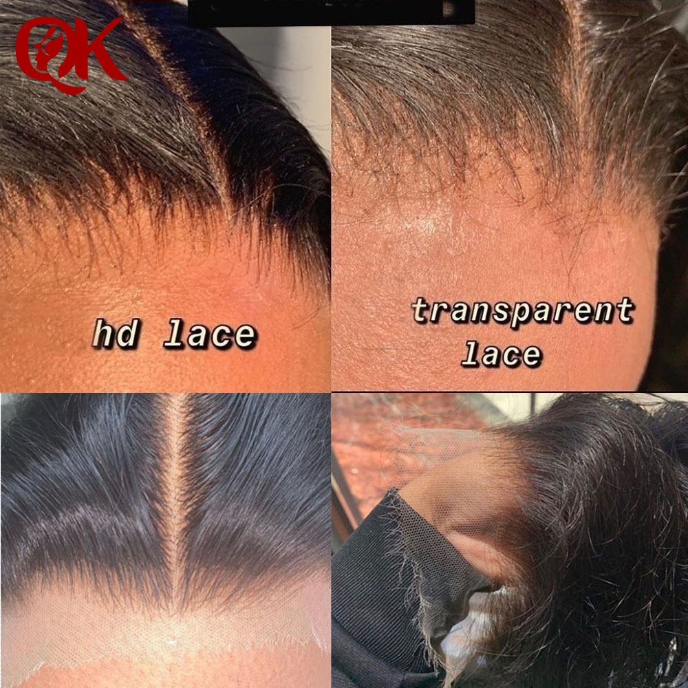 HD Lace Frontals Hair Invisible PrePlucked Ear To Ear 13X4 HD Lace Frontal Closures Transparent Lace Frontals Brazilian Straight