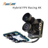 RunCam Hybrid 4K 30fps FOV 145 Degree HD Recording DVR Dual Lens Mini FPV Camera Low Latency Single Board for RC Drone