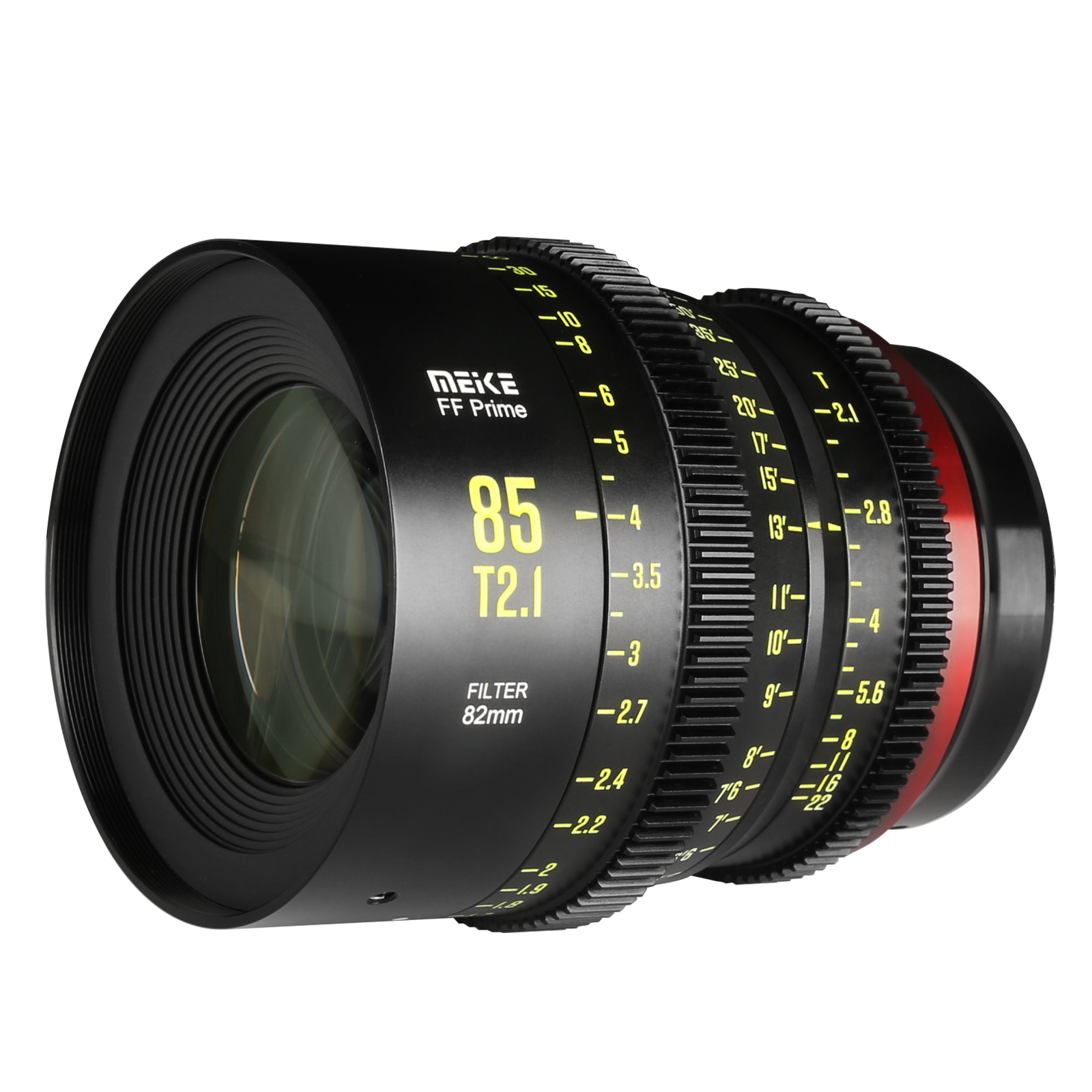 Meike Prime 85mm T2.1 Cine Lens for Full Frame Cinema Camera Systems-Fast Delivery
