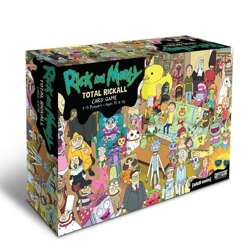Cooperative Card Game Set-Collecting Game Enjoyed By Kids Teens And Adults For Rick And Morty Total Rickall