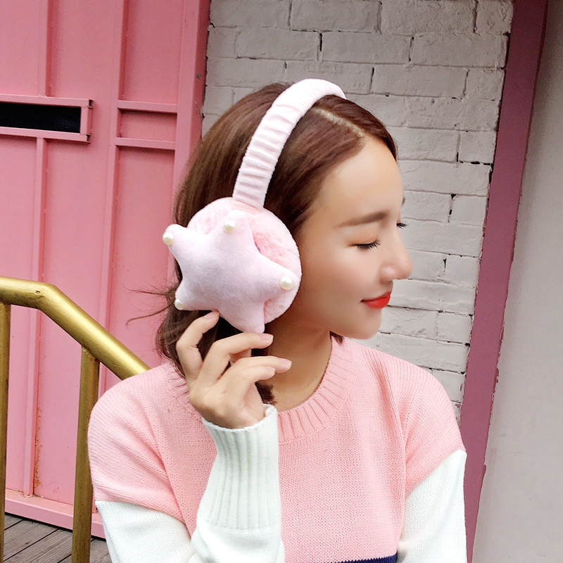 2018 New Cute Cartoon Fur Winter Earmuffs For Women Warm Earmuffs Ear Warmers Gifts For Girls Cover Ears Ear Muff AB340
